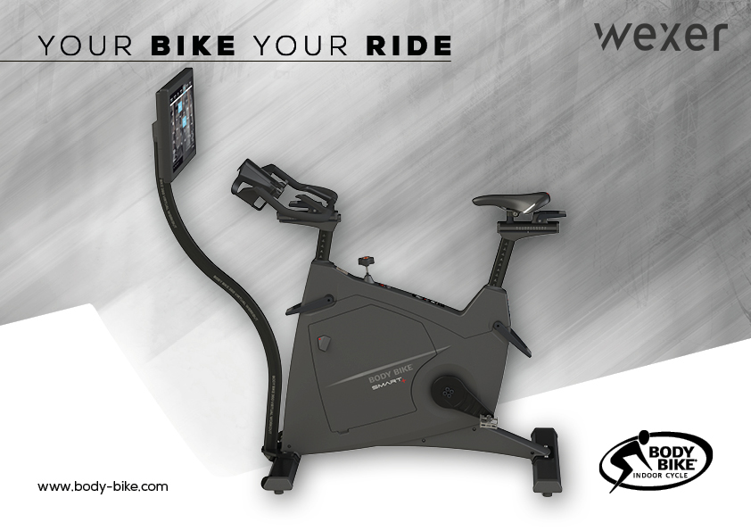 Wexer Body Bike: A new world-class indoor cycling experience – your bike your ride – any time anywhere