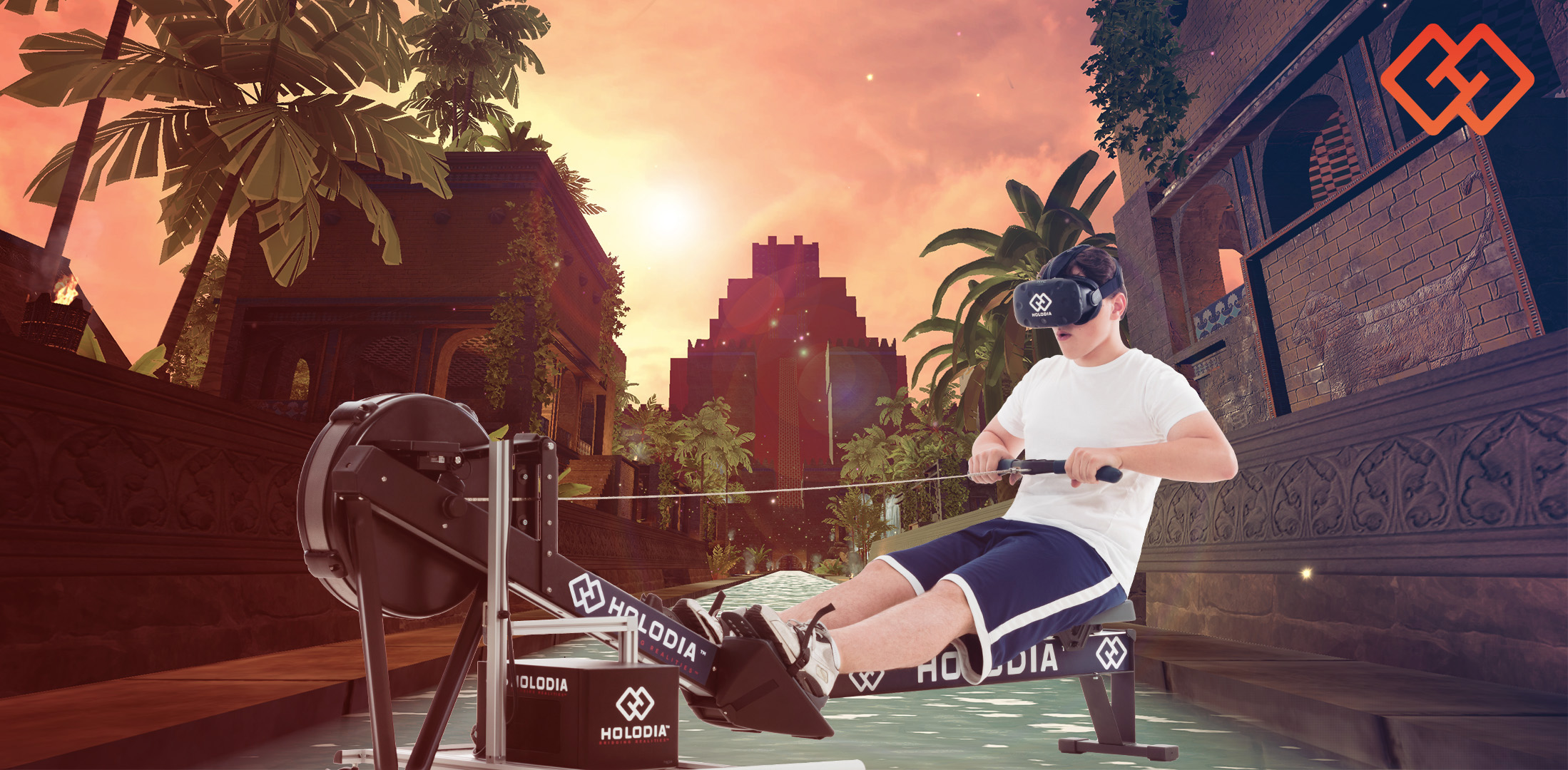 The Most Advanced VR Fitness Cardio Workout Platform, HOLOFIT Releases New Environment Cyberpunk