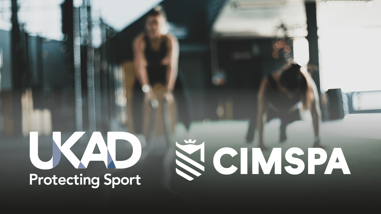 UK Anti-Doping and CIMSPA announce partnership to support clean sport