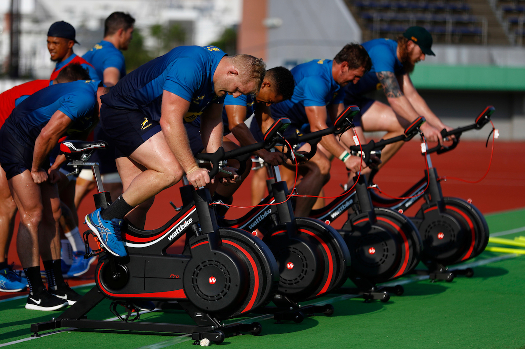 180 WATTBIKES INSTALLED ACROSS RUGBY WORLD CUP TRAINING VENUES