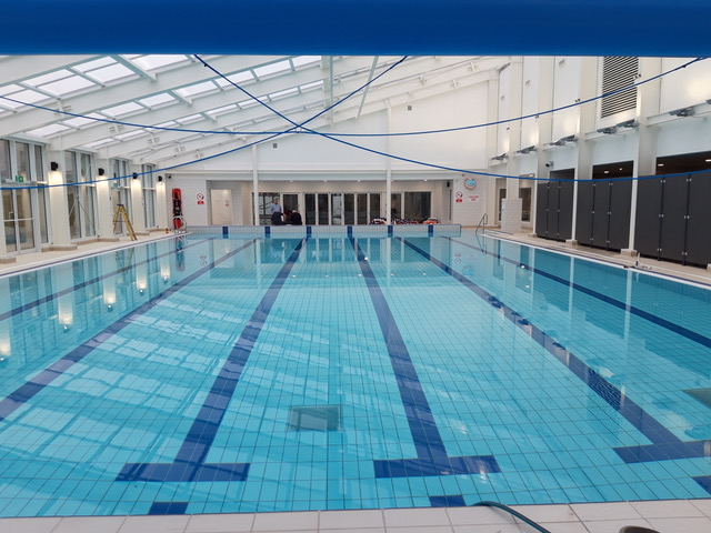 IVYBRIDGE LEISURE CENTRE MAKES A SPLASH AS MUCH ANTICIPATED NEW POOL OPENS