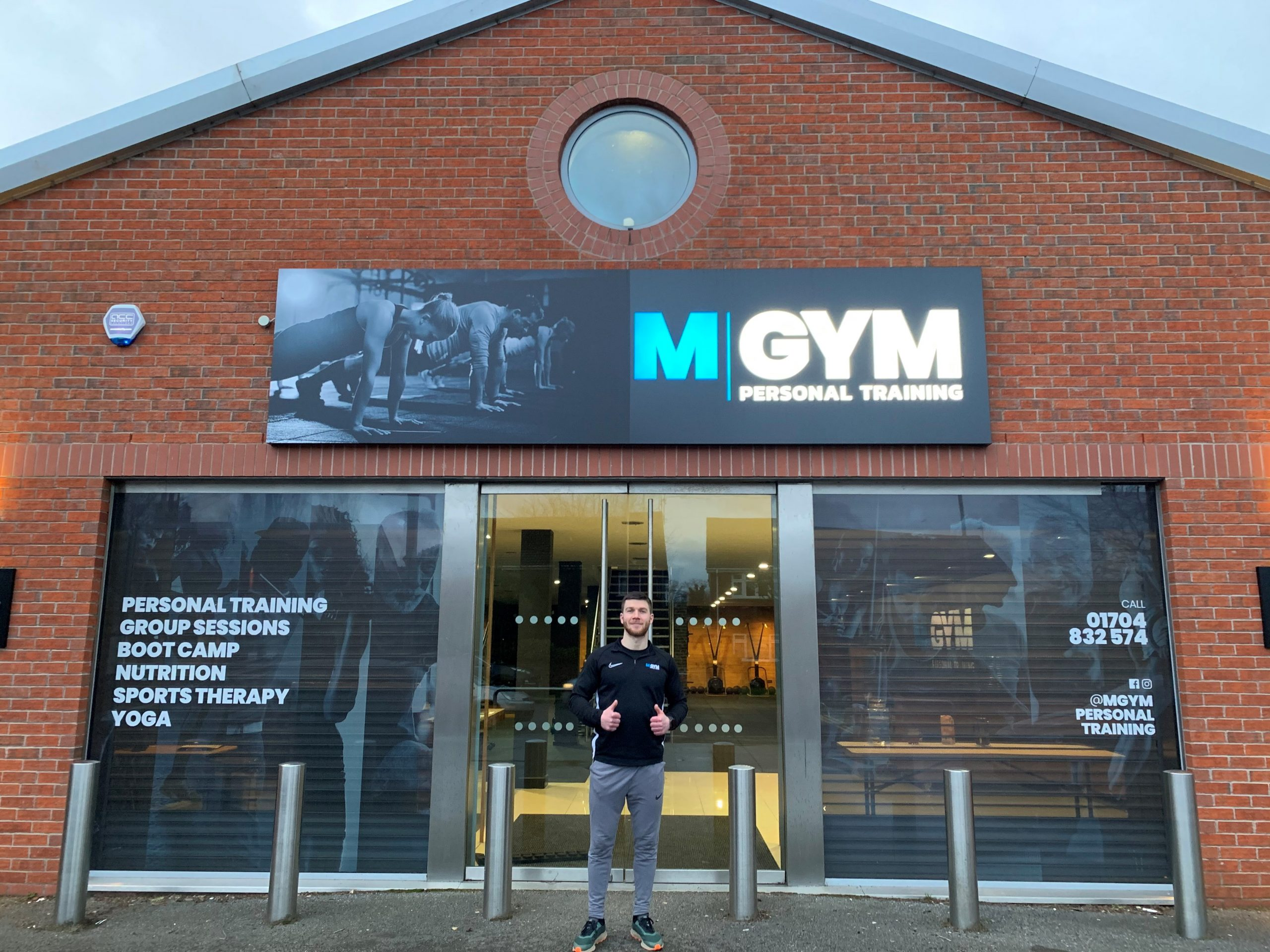 HEALTHY PROFITS SEE EXPANSION OF FORMER FOOTBALLER'S FORMBY FITNESS  EMPIRE FOLLOWING FUNDING PACKAGE