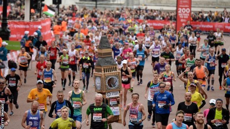 Coronavirus : London Marathon Postponed