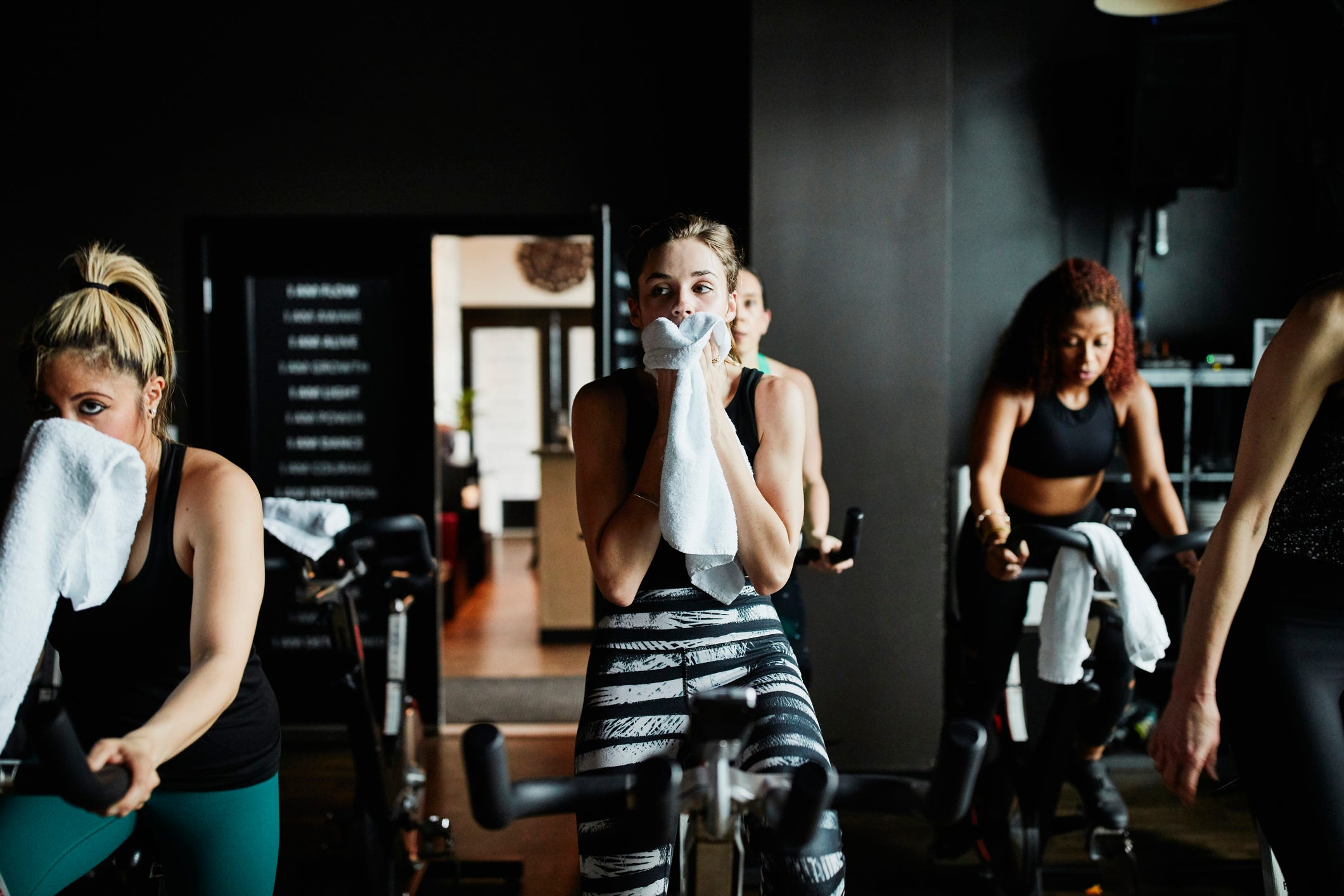 A virologist says you don't need to avoid the gym if you're worried about the coronavirus, but there are a few simple steps you can take to stay healthy: