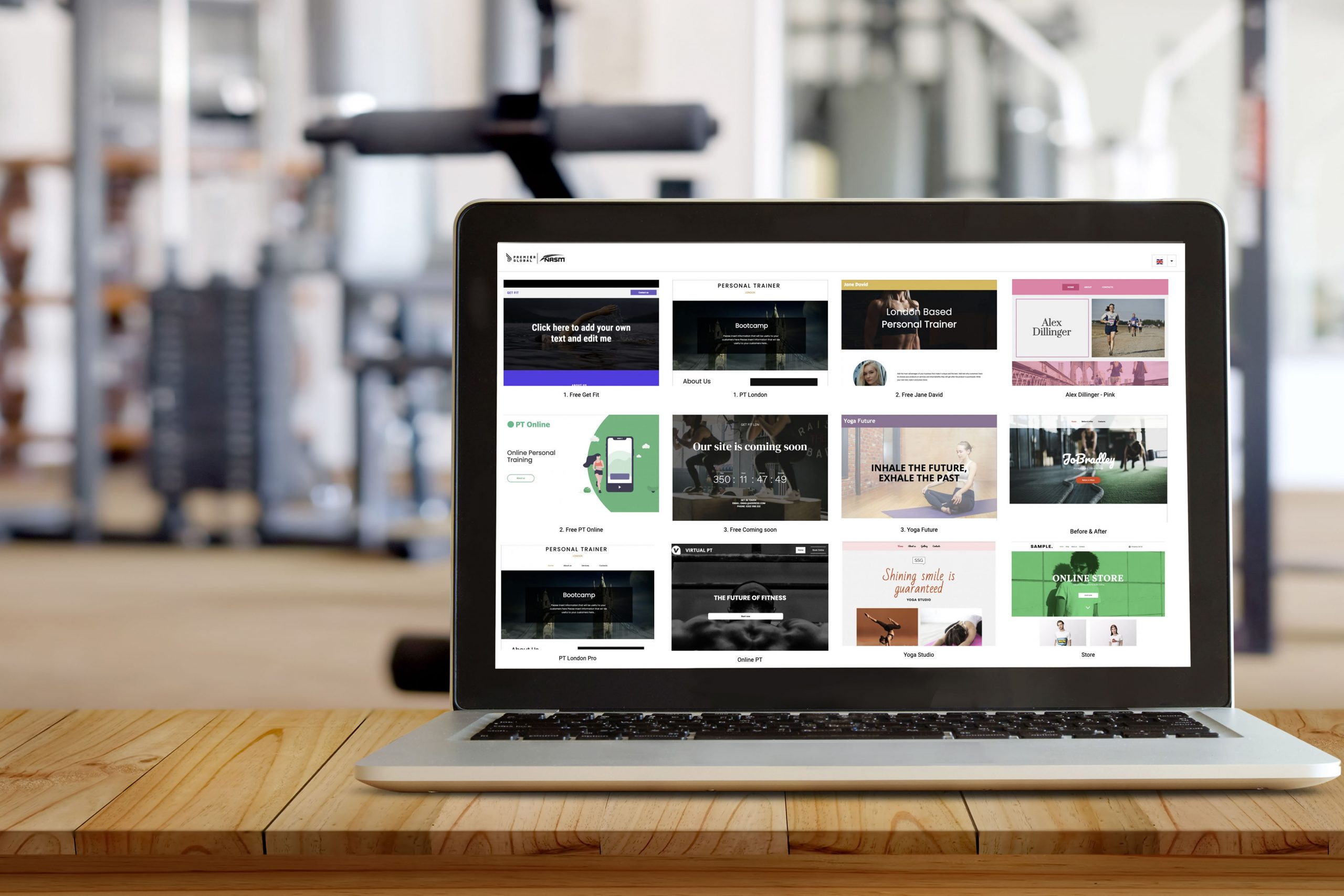 PREMIER GLOBAL NASM CREATES WEBSITE BUILDER FOR STUDENT NETWORK