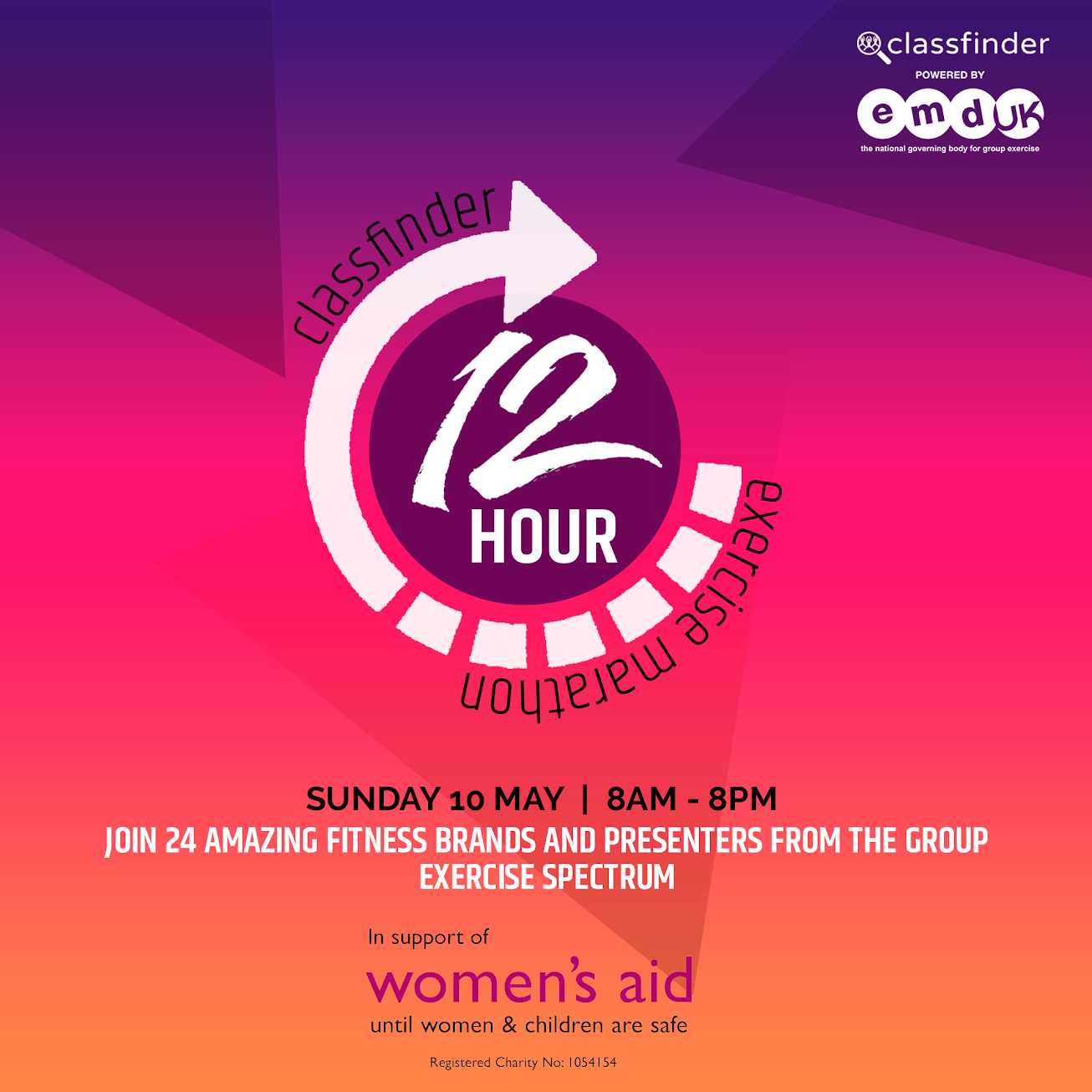 Fundraiser / EMD UK supports 12-hour exercise marathon for Women's Aid