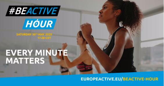 EuropeActive news – May 2020 – Join the #BEACTIVE HOUR!