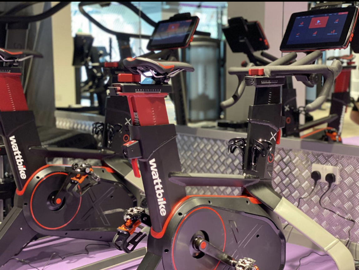 ANYTIME FITNESS FIRST TO INSTALL THE NEW WATTBIKE ATOMX