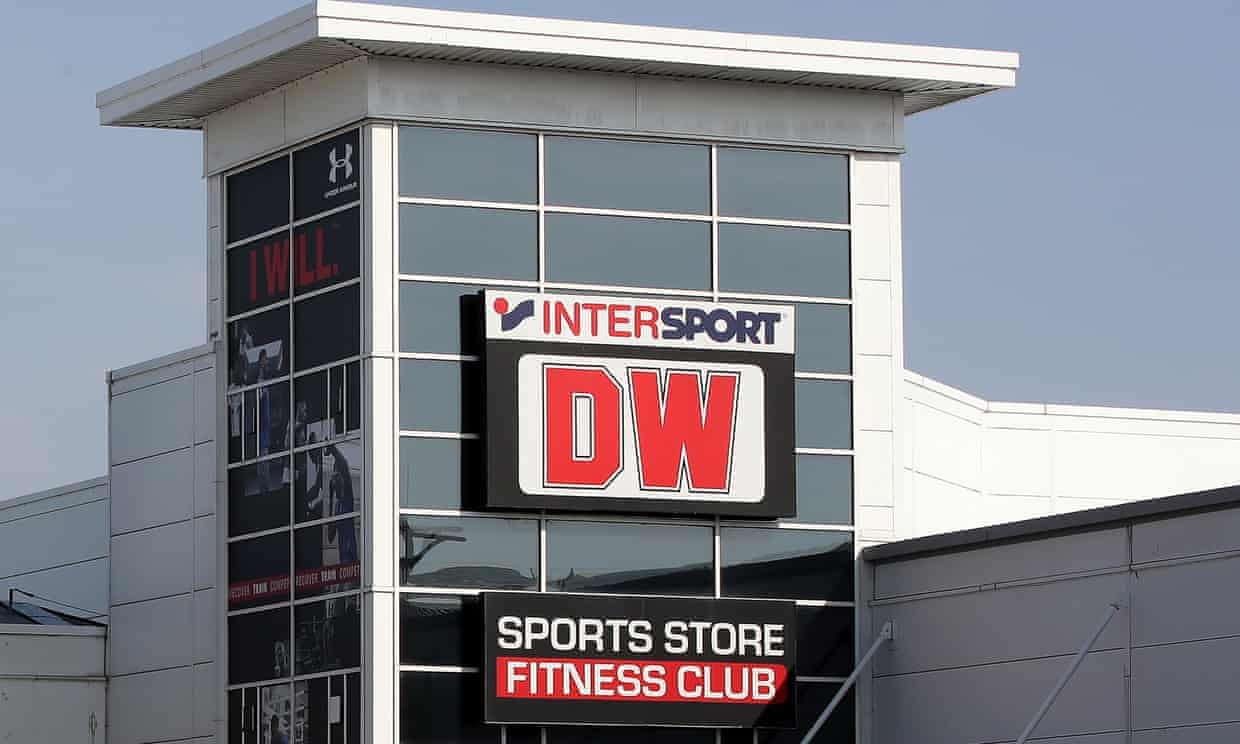 DW Sports goes into administration, putting 1,700 jobs at risk