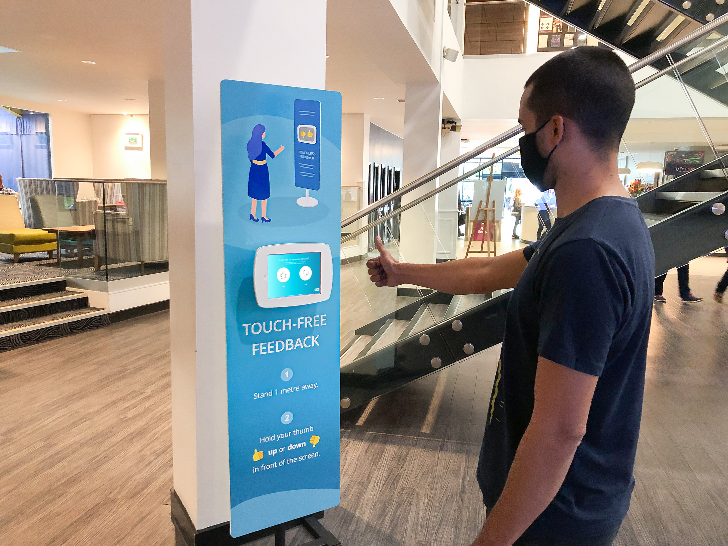 Early Look: Touchless Survey Tech Launches at David Lloyd Leisure