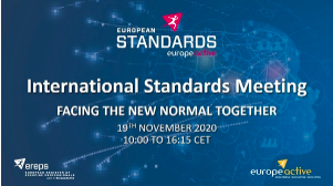 2020 International Standards Meeting (ISM): Facing the New Normal Together