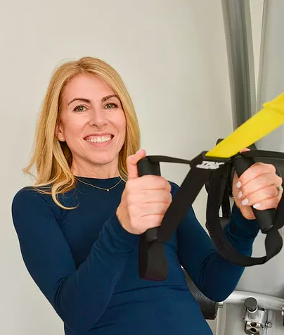 Caroline Freedman, Personal Trainer and author of 'The Scoliosis Handbook of Safe and Effective Exercises Pre and Post Surgery by Caroline Freedman' Published by Hammersmith Health Books