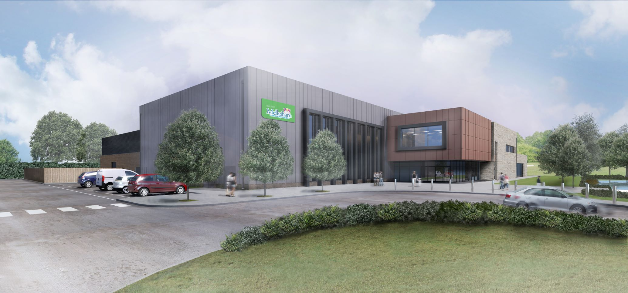 Work starts on Melksham Community Campus
