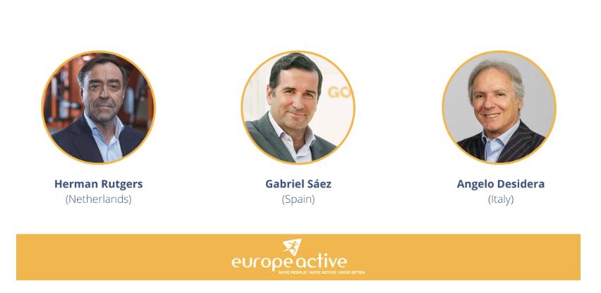 EuropeActive celebrates the appointment of three EA Ambassadors