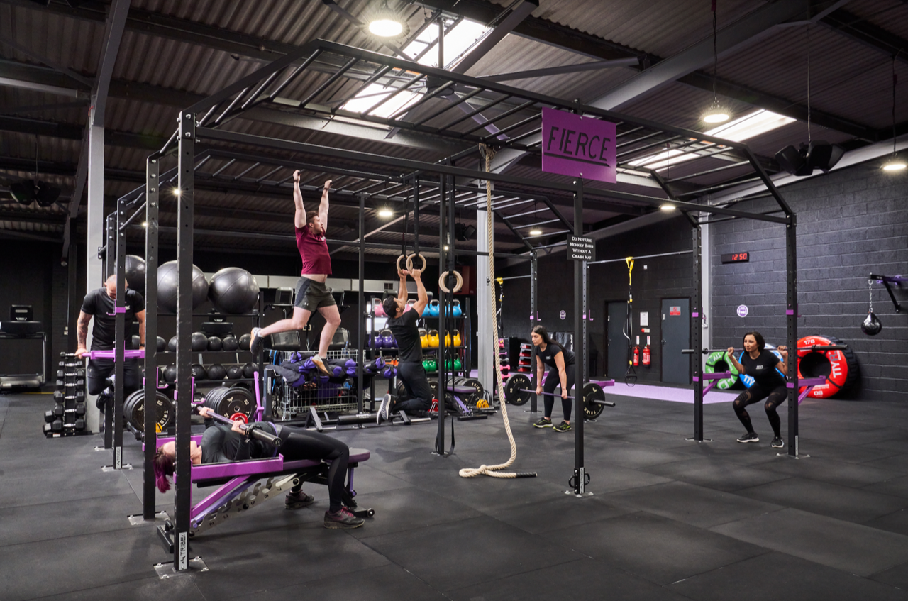 Fierce Gym – awarded 'Best Independent Gym' Shares Growth Plans