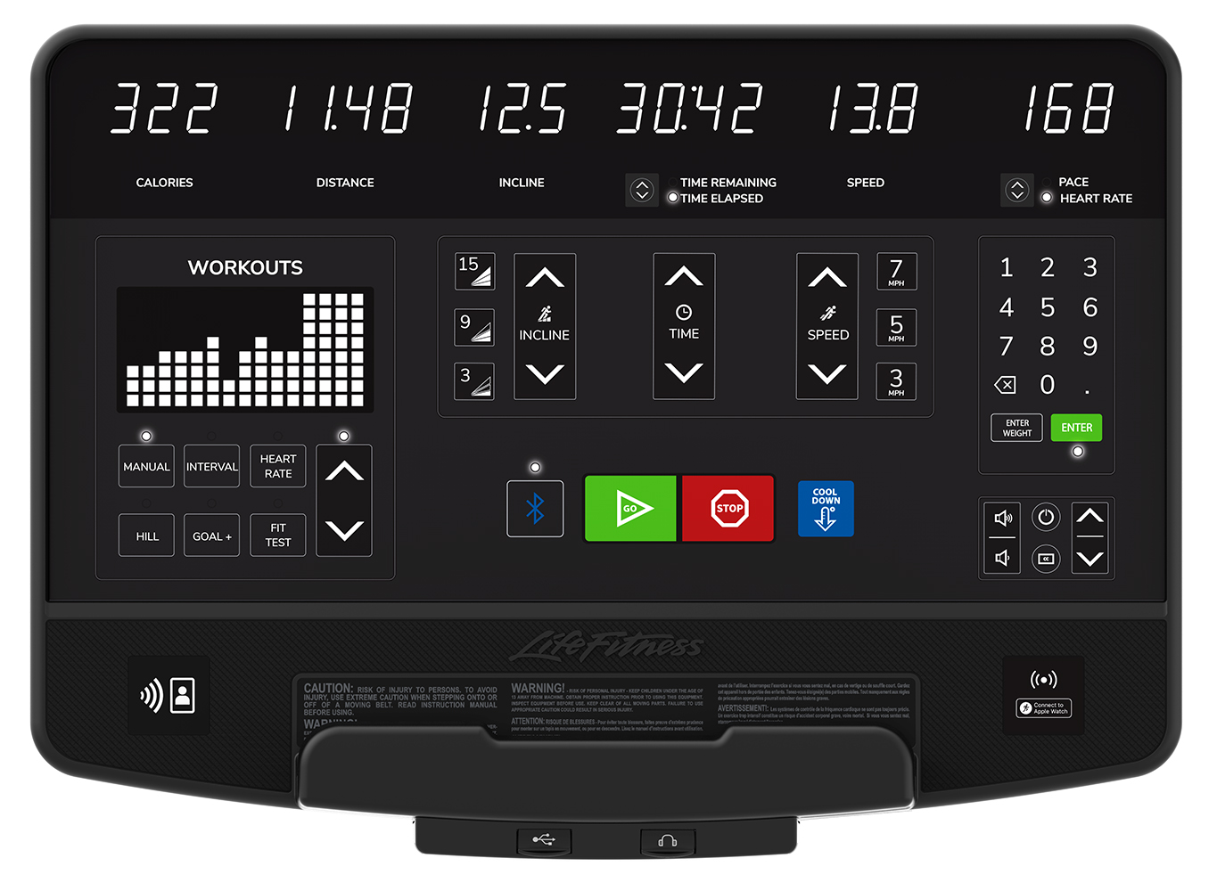 Life Fitness Introduces Integrity SL, the Next Generation LED Console
